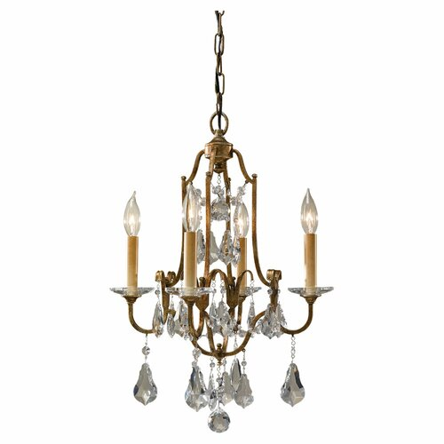 Feiss Valentina 4 Light Chandelier