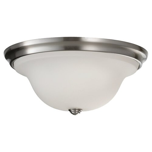 Feiss Beckett 2 Light Flush Mount