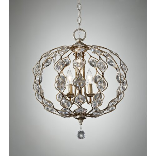 Feiss Leila 3 Light Chandelier