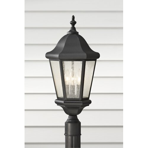 Feiss Martinsville 3 Light Outdoor Lantern