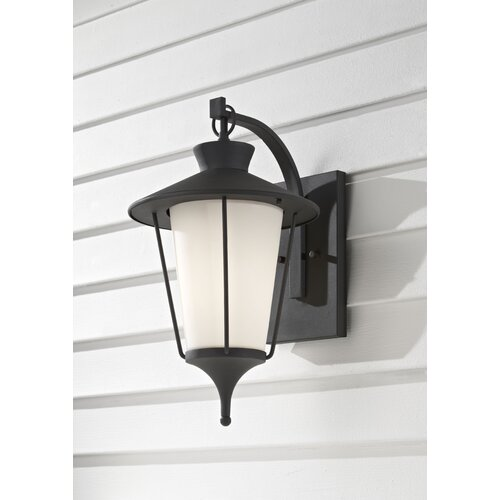 Feiss Hawkins Square 1 Light Outdoor Lantern