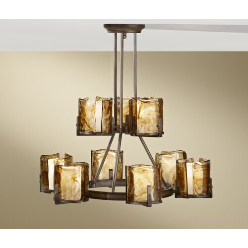Feiss Aris 9 Light Chandelier