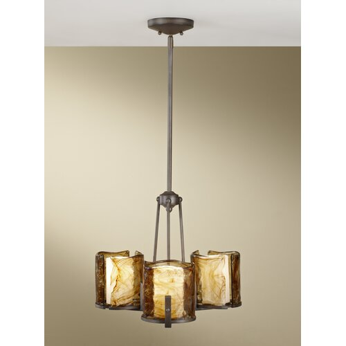 Feiss Aris 3 Light Chandelier