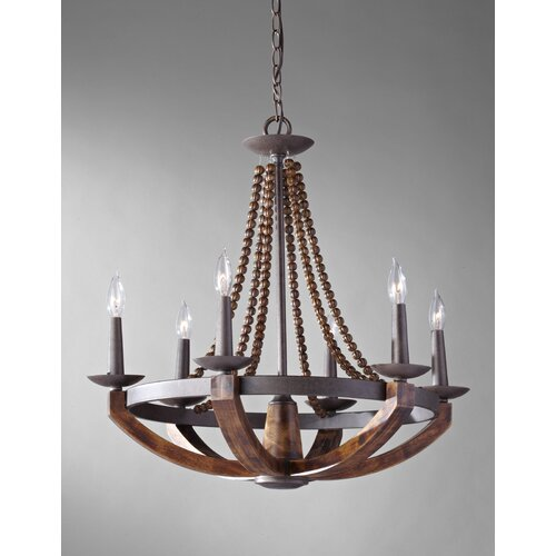 Discount Murray Feiss Lighting: Feiss Adan 6 Light Chandelier & Reviews