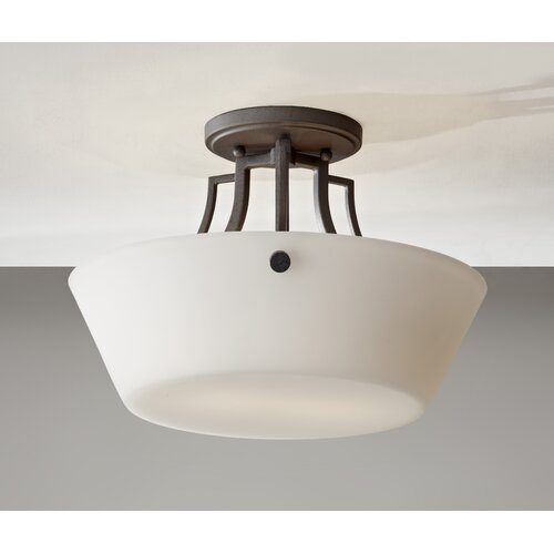 Feiss Weston 2 Light Semi-Flush Mount