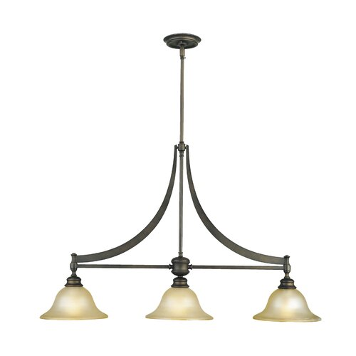 Feiss Pub 3 Light Kitchen Island Pendant