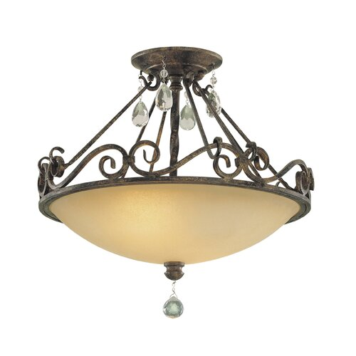 Chateau Semi Flush Mount