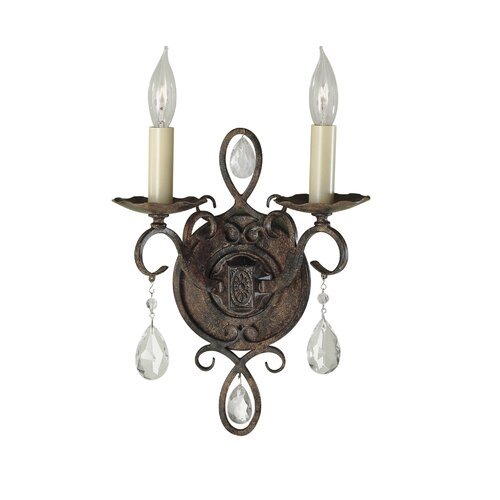 Feiss Chateau 2 Light Wall Sconce