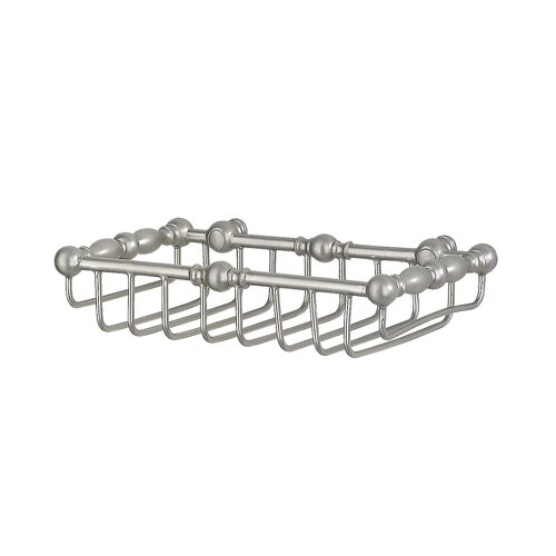 Feiss Bathroom Accessory Basket in Pewter
