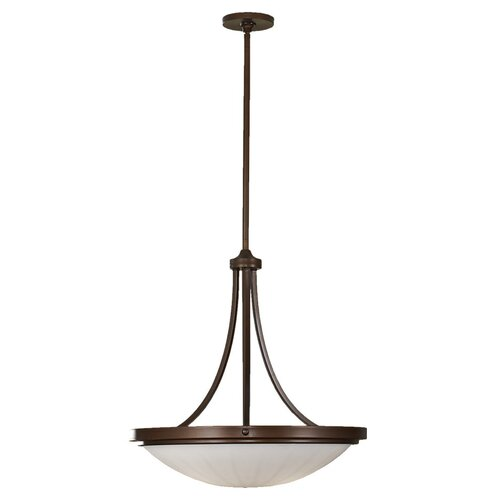 Feiss Perry 3 Light Inverted Pendant
