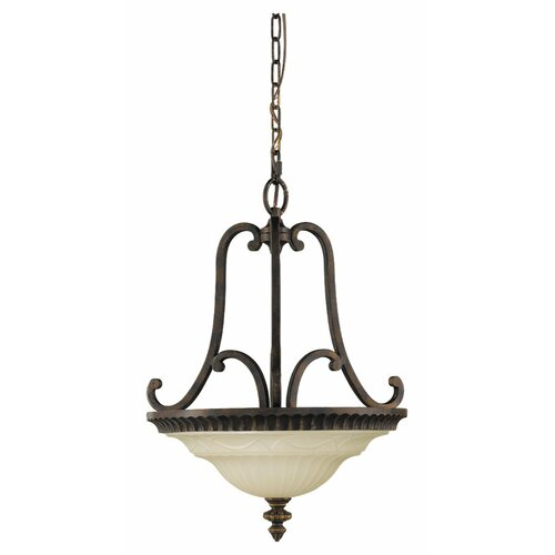 Feiss Drawing Room 2 Light Inverted Pendant