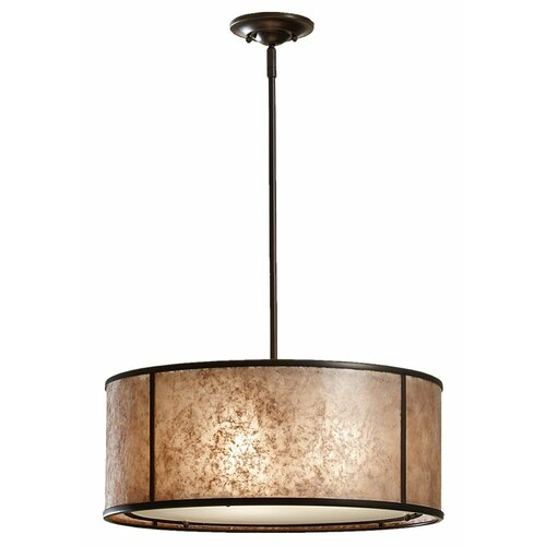 Feiss Taylor 3 Light Drum Pendant