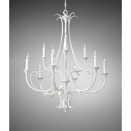 Feiss Peyton Saltspray 9 Light Chandelier