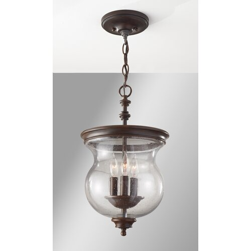 Feiss Pickering Lane 3 Light Semi Flush Mount