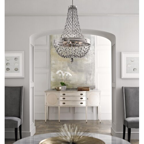 Feiss Malia 8 Light Chandelier