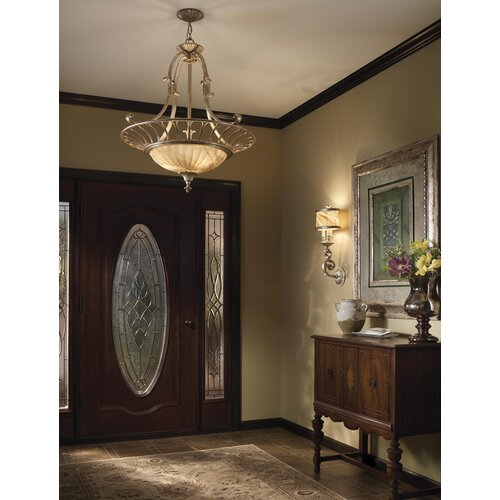 Feiss Bancroft 2 Light Semi Flush Mount