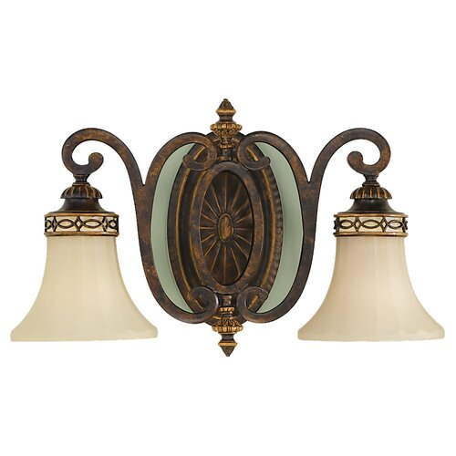 Feiss Edwardian 2 Light Vanity Light