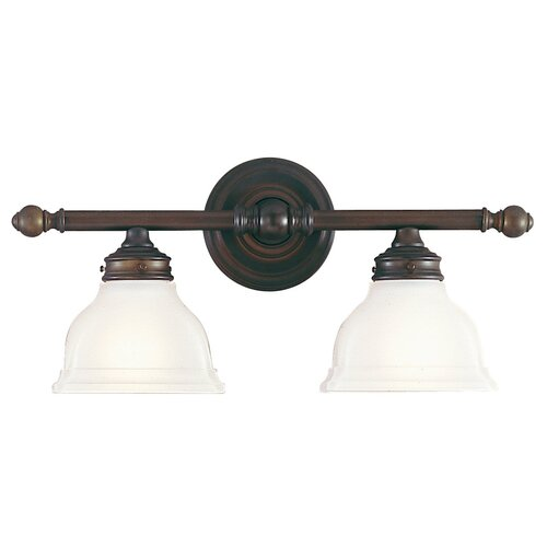 Feiss New London 2 Light Vanity Light