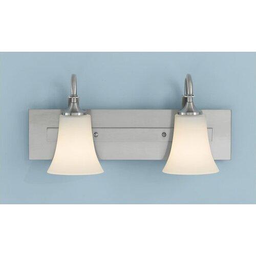 Feiss Barrington 2 Light Bath Vanity Light