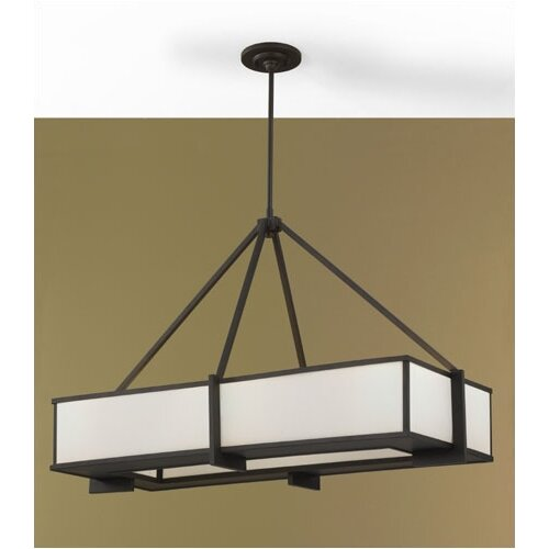 Feiss Stelle 6 Light Kitchen Island Pendant