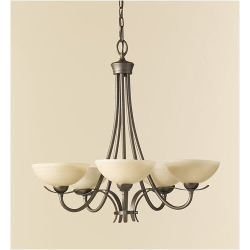 Feiss Kinsey 5 Light Chandelier