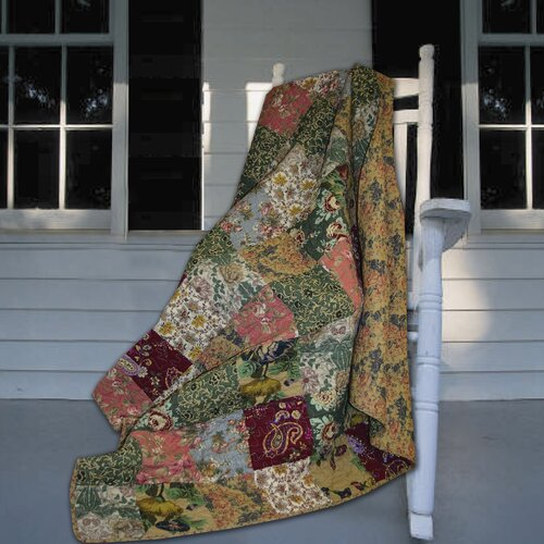 Greenland Home Fashions Antique Chic Cotton Throw