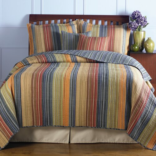 Greenland Home Fashions Katy Bonus Quilt Set
