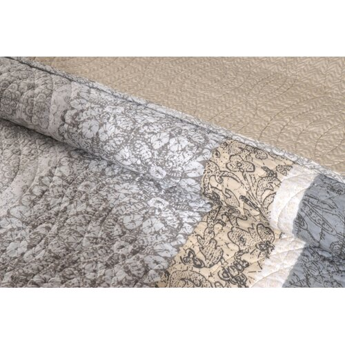 Greenland Home Fashions Soho Quilt Set