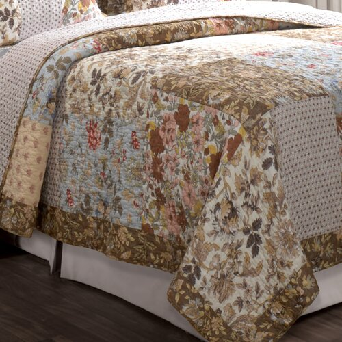 Greenland Home Fashions Camilla Cotton Throw