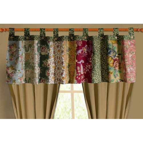 "Greenland Home Fashions Antique Chic 84"" Curtain Valance"