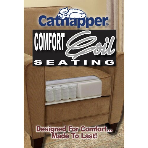 Catnapper Vintage Leather Chaise  Recliner