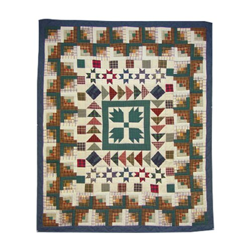 Patch Magic Bear Creek Cotton Throw Quilt