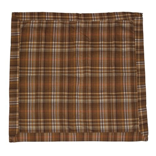Patch Magic Brown Beige Dobby Checked Sham