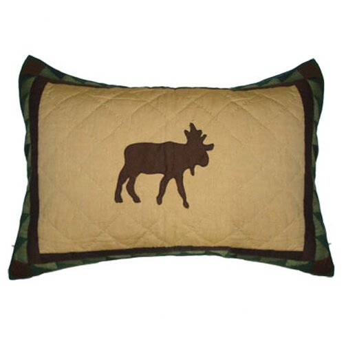 Patch Magic Cedar Trail Mose Pillow Sham