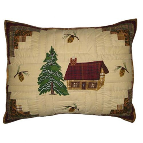 Patch Magic Forest Log Cabin Pillow Sham