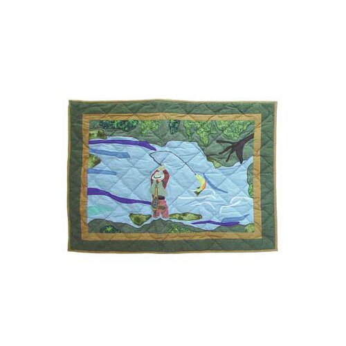 Patch Magic Fly Fishing Pillow Sham