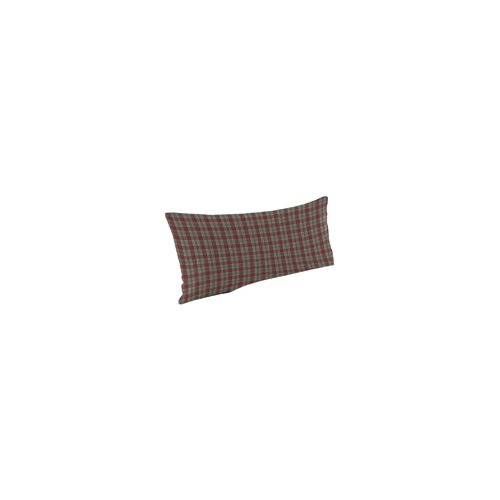 Brown and Green Plaid Pillow Sham