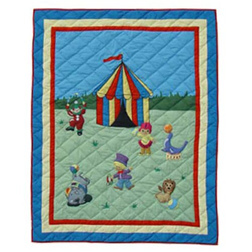 Patch Magic Circus Cotton Throw