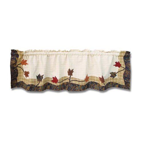 "Patch Magic Autumn Leaves 54"" Curtain Valance"