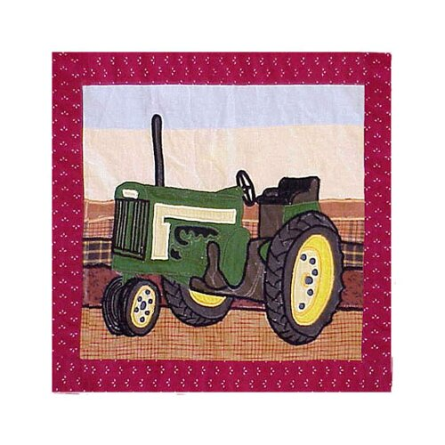 Patch Magic Barnyard Toss Pillow