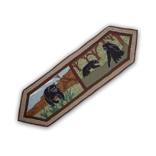 Patch Magic Bear Country Table Runner