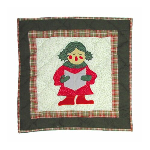 Patch Magic Carolers Toss Pillow