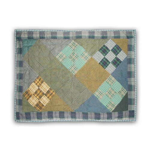 Patch Magic Chambray Nine Patch Pillow Sham