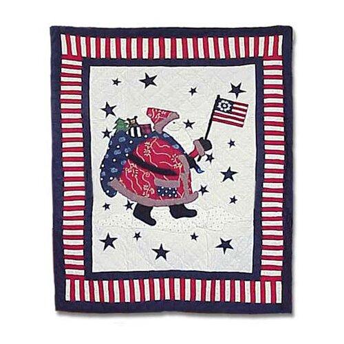 Patch Magic Colonial Santa Quilt