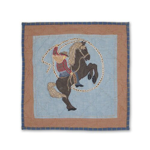 Patch Magic Cowgirl Toss Pillow