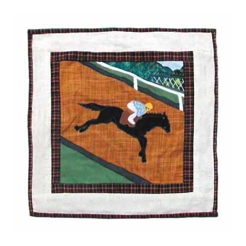 Patch Magic Derby Toss Pillow