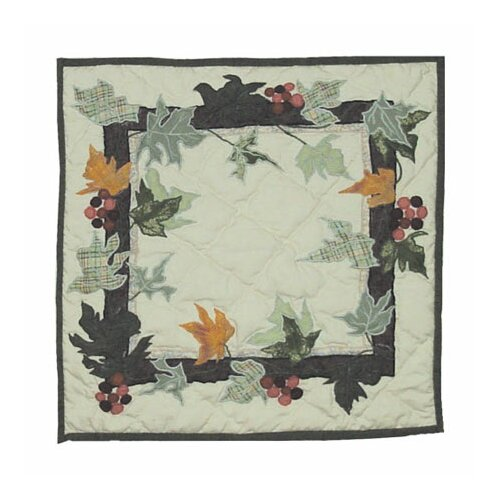 Patch Magic Falling Leaves Toss Pillow