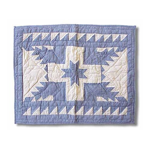 Patch Magic Feathered Star Pillow Sham