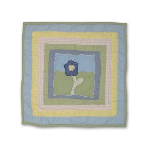 Patch Magic Flower Power Toss Pillow