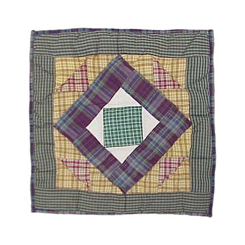 Patch Magic Square Diamond Toss Pillow